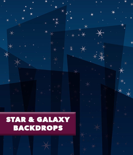 Star and Galaxy Backdrops