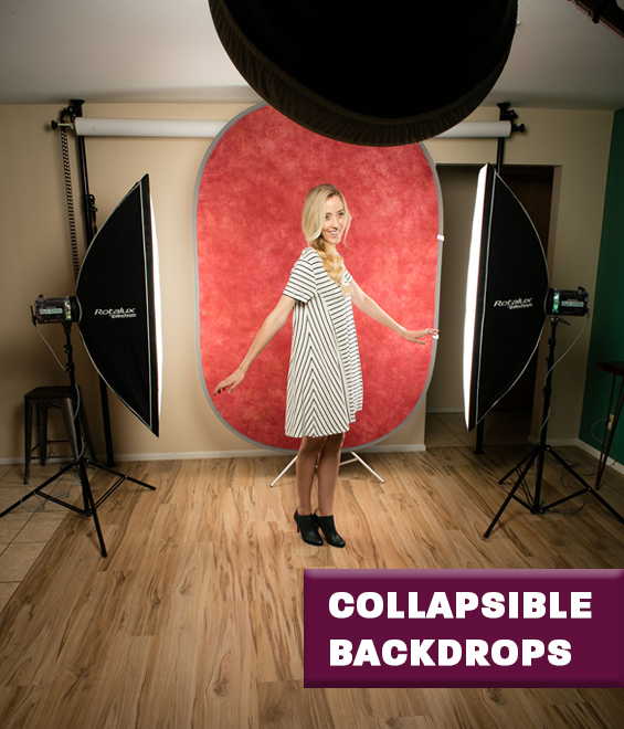 Collapsible Backdrops