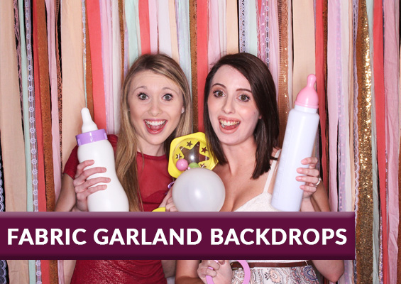 Fabric Garland Backdrops