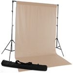 Mocha Fabric Backdrop