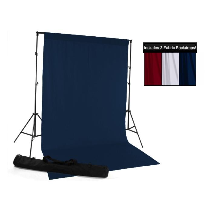 Red White Amp Blue Fabric Backdrop Kit Backdrop Express