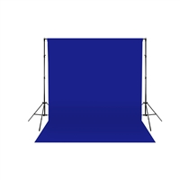 Royal Blue Fabric Backdrop
