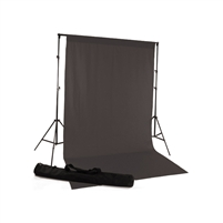Gray Fabric Backdrop Kit