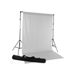 White Fabric Backdrop Kit