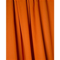 Pumpkin Orange Fabric Backdrop
