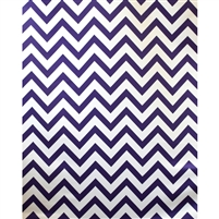 Grape Chevron Fabric Backdrop