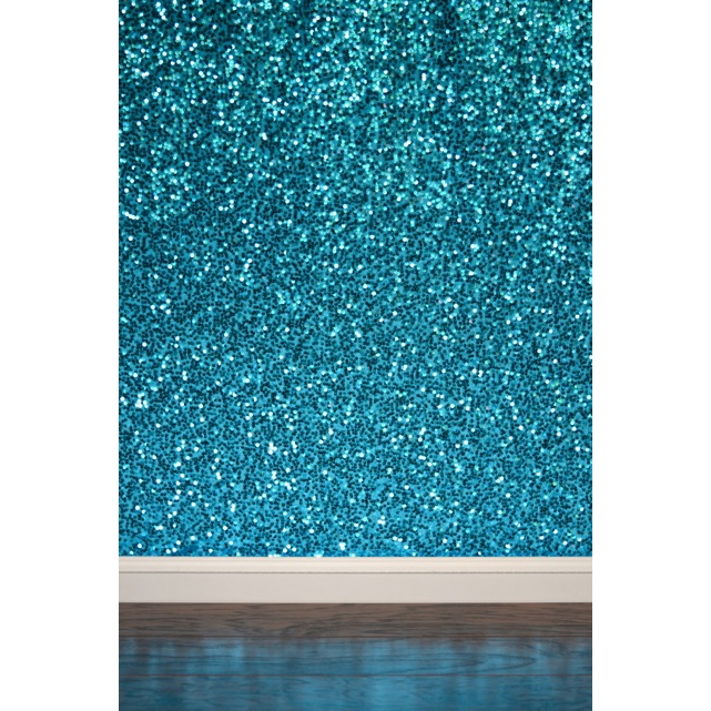 Teal Sequin Fabric Backdrop Backdrop Express