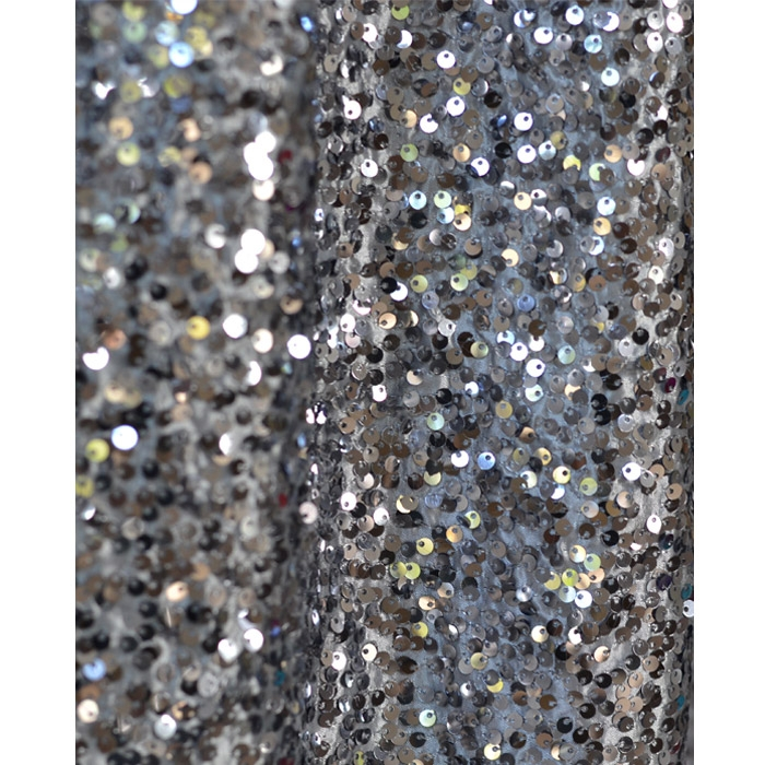 Charcoal Sequin Fabric Backdrop Backdrop Express