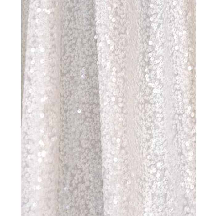 White Sequin Fabric Backdrop Backdrop Express