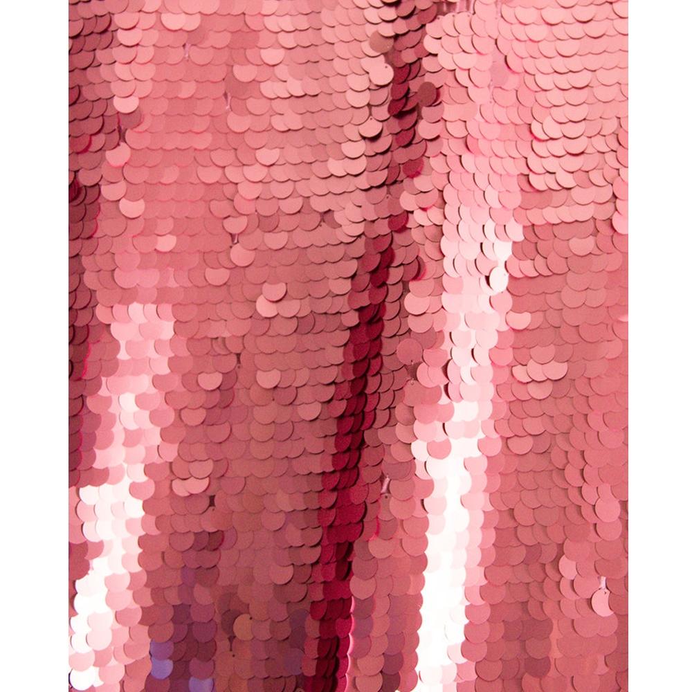 Pink Super Sequin Fabric Backdrop Backdrop Express