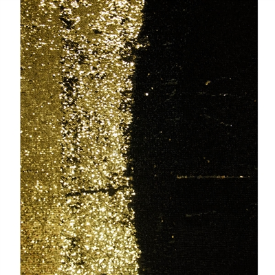 Black and Gold Mermaid Sequin Fabric Backdrop