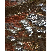 Gold and Silver Mermaid Sequin Fabric Backdrop