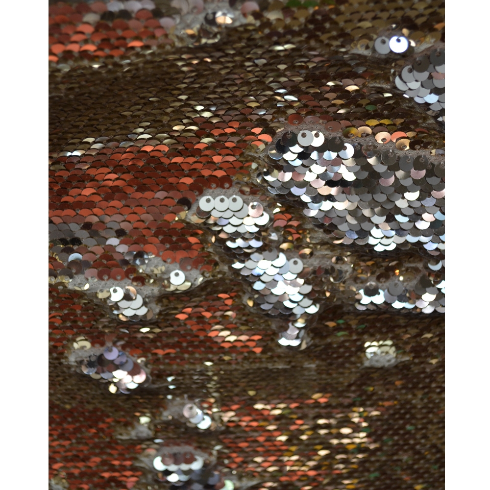 Gold And Silver Mermaid Sequin Fabric Backdrop Backdrop