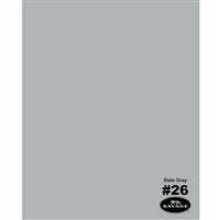 Slate Gray Seamless Backdrop Paper