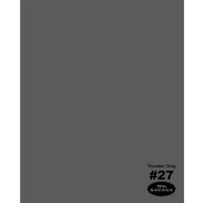 Thunder Gray Seamless Backdrop Paper