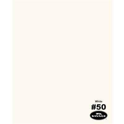 White Seamless Backdrop Paper