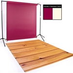 Ivory, Crimson & Large Planks Seamless / Floordrop Kit
