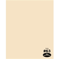 Ivory Seamless Backdrop Paper