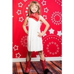 Red Starburst Printed Backdrop
