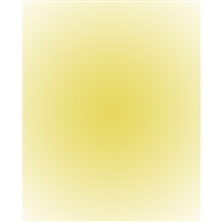 Canary Yellow Radial Gradient Backdrop