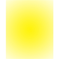 Bright Yellow Radial Gradient Backdrop