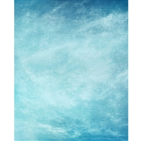 Faded Sky Mottled Printed Backdrop