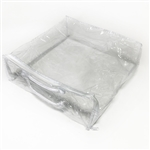 Replacement Clear Zipper Backdrop Bag