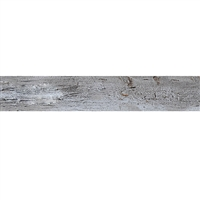 Gray Distressed Baseboard Slap