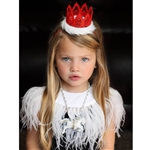 Mini Holiday Lace Crown