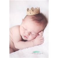 Mini Prince Lace Crown
