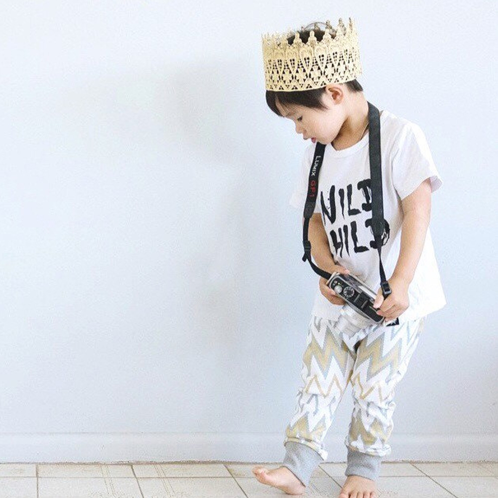 Little King Lace Crown Backdrop Express