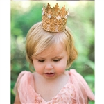 Regal Mini Lace Crown