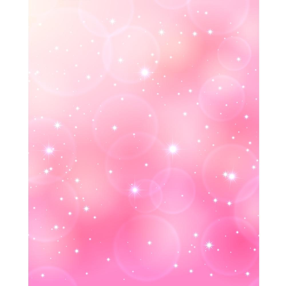 Sparkling Pink Bokeh Printed Backdrop Backdrop Express