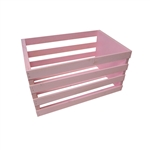Pink Wooden Posing Crate