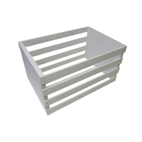 White Wooden Posing Crate