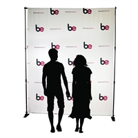 Step & Repeat Backdrop - 1 Logo, Repeating