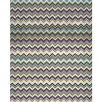 Dark Tones Chevron Printed Backdrop