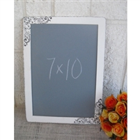 Shabby Damask Chalkboard Photo Prop