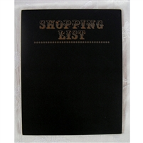 Shopping List Chalkboard Photo Prop