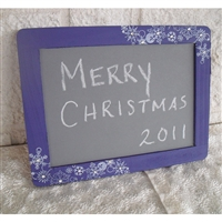 Winter Snowflake Chalkboard Photo Prop