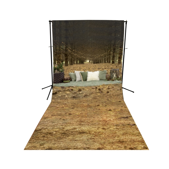 Picnic in the Woods Scenic Floor Extended Printed Backdrop