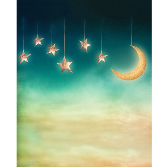 Goodnight Moon Printed Backdrop - Vinyl - 5ft (w) x 6ft (h)