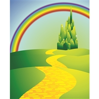 Wizard of Oz Printed Backdrop