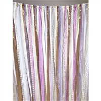 Rapunzel Fabric Garland Backdrop