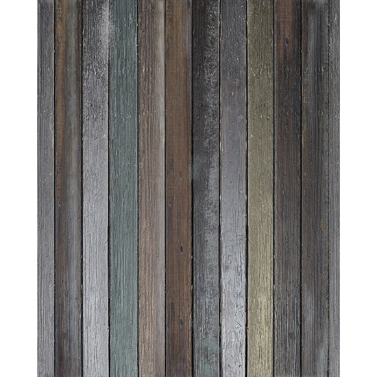 Shades Of Teal Wood Floordrop Backdrop Express