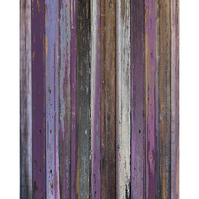 Shades Of Purple Wood Floordrop Backdrop Express