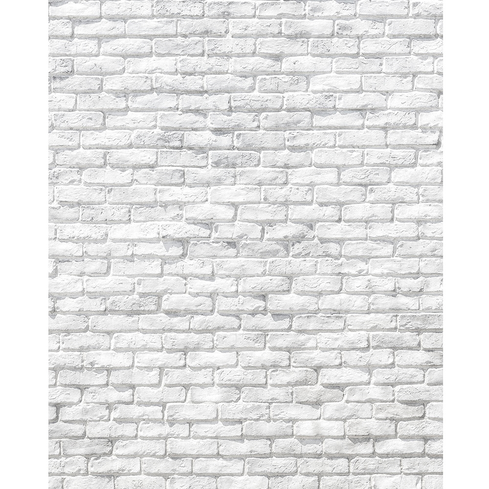 Worn White Brick Printed Backdrop Backdrop Express