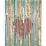 Distressed Heart Planks Floordrop