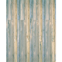 Two Toned Wood Printed Backdrop - Lightweight Fabric - 10ft (w) x 10ft (h)