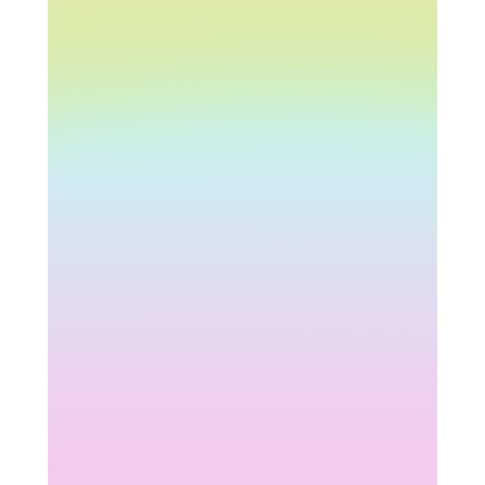 Cotton Candy Ombre Printed Backdrop